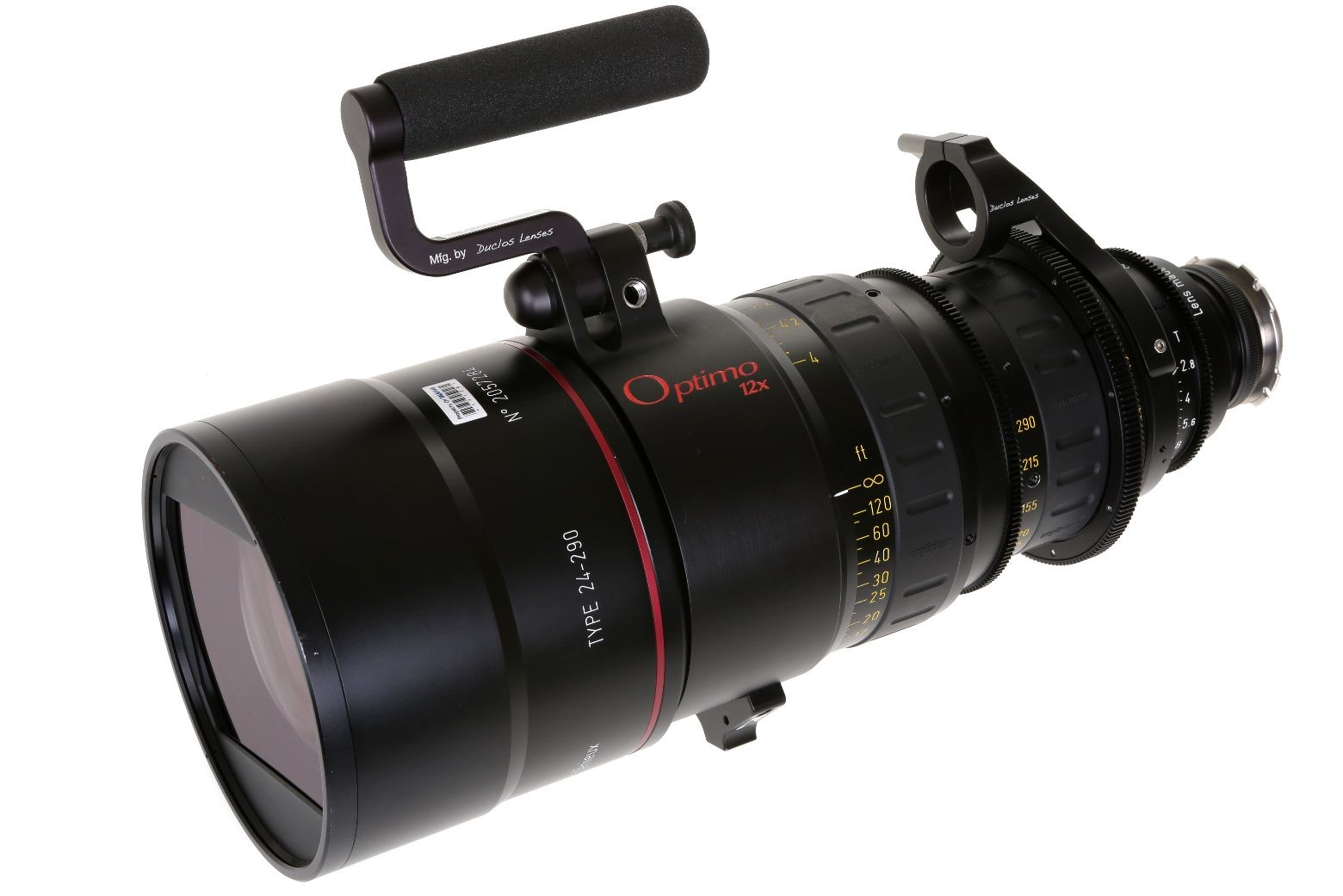 ZOOM ANGENIEUX OPTIMO 24-290 mm T 2.8
