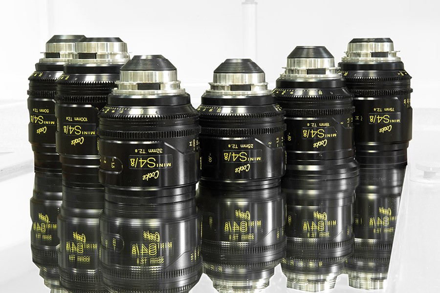 Set Opticas Cooke S4 Mini T 2.8