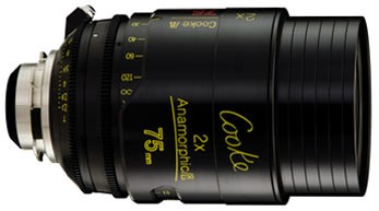 Optica Cooke  Anamorfica/i 75 mm